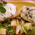 Tartines fromagères