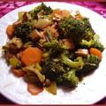 Poêlée de légumes au tofu