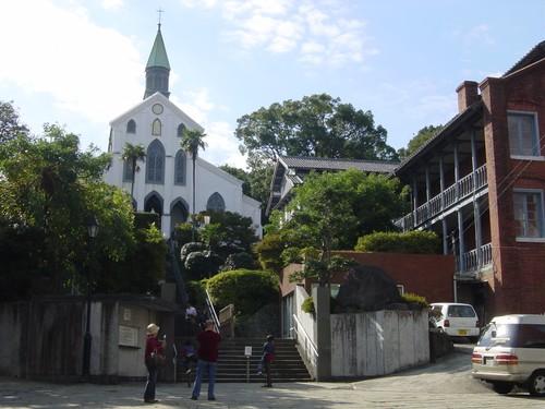 Nagasaki - L'église catholique d'Oura