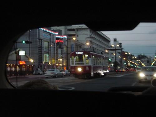 Nagasaki - Le Tramway de la Ville