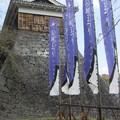 Kumamoto - Vue externe du Château