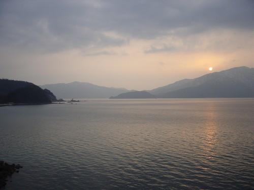 Coucher de Soleil sur la baie de Tsuruga [3]