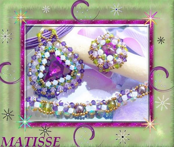 Pendentif Triade, Bague Harmonie, Bracelet de mon inspiration