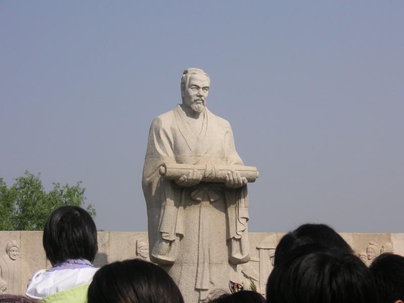 staute de Zhang Zeduan