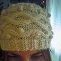Bonnet pure laine Phildar - modèle trouvé sur le web