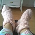 Premières chaussettes