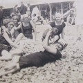 Nice 1922 sur la plage
