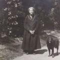 Rambouillet 1923, tante Berthe et Gaston