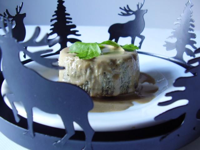 Gâteau aux champignons