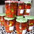 Conserves de poivrons