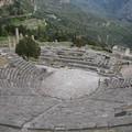 Delphes : amphitheatre