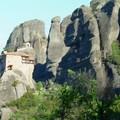 Meteores : monastere entre les pics