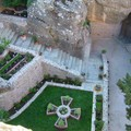 Meteores : jardin du monastere