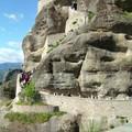 Meteores : passage vers le monastere