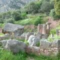 Delphes : vestiges