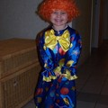 Juliette en clown, carnaval 2006