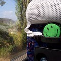 Smiley dans le car