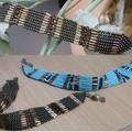 bracelets_vert_olive_et_turquoise