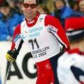 Thomas Alsgaard , médaille d'or poursuite
