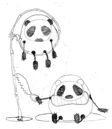 sagesse du panda