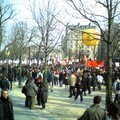 Manifestation anti CPE Paris 18/03/2006