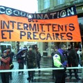 Manifestation des intermittents du spectacle 08/03/2006