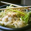 Salade de poulet aux nouilles - Asian chicken salad
