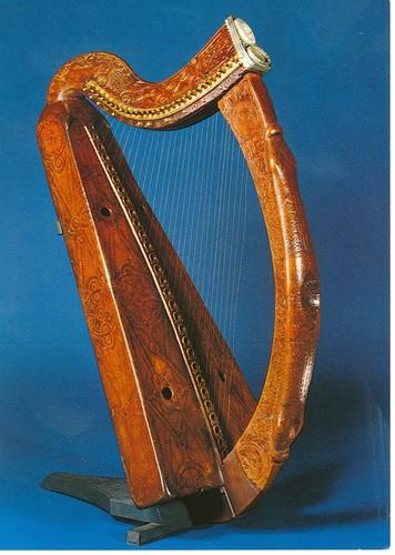 Trinity College - La harpe de Brian Boru