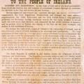 La proclamation de 1916