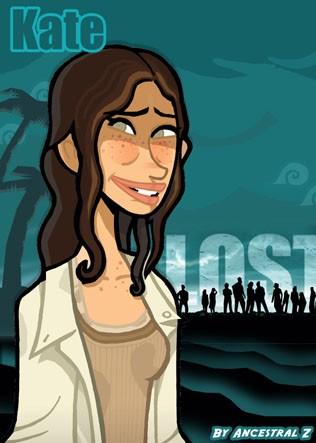 Lost karakter illüstrasyonları [Avatar ve İmza için birebir] M-Kate_Lost