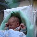 Benjamin le lendemain de son arrivée dans le monde