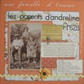 Les parents d'Andréline