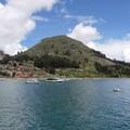 Peru, Lago Titicaca, Copacabana, Bolivia
