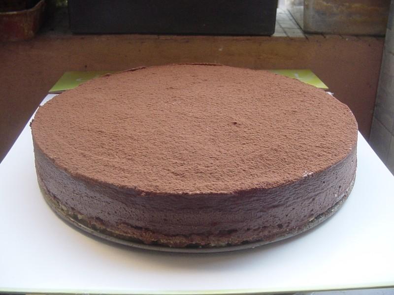Gateau au chocolat croustillant