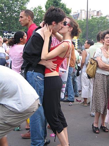 Le baiser de la Bastille