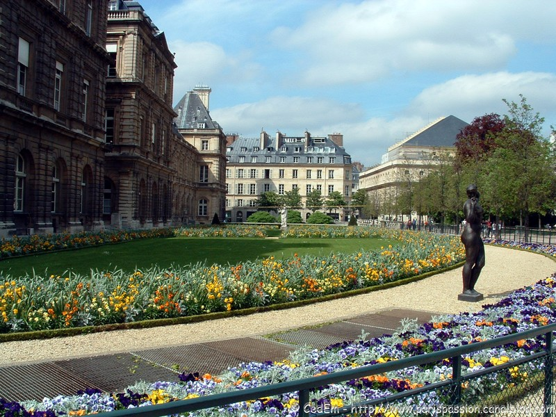 Paris passion - Jardin du luxembourg adresse ...