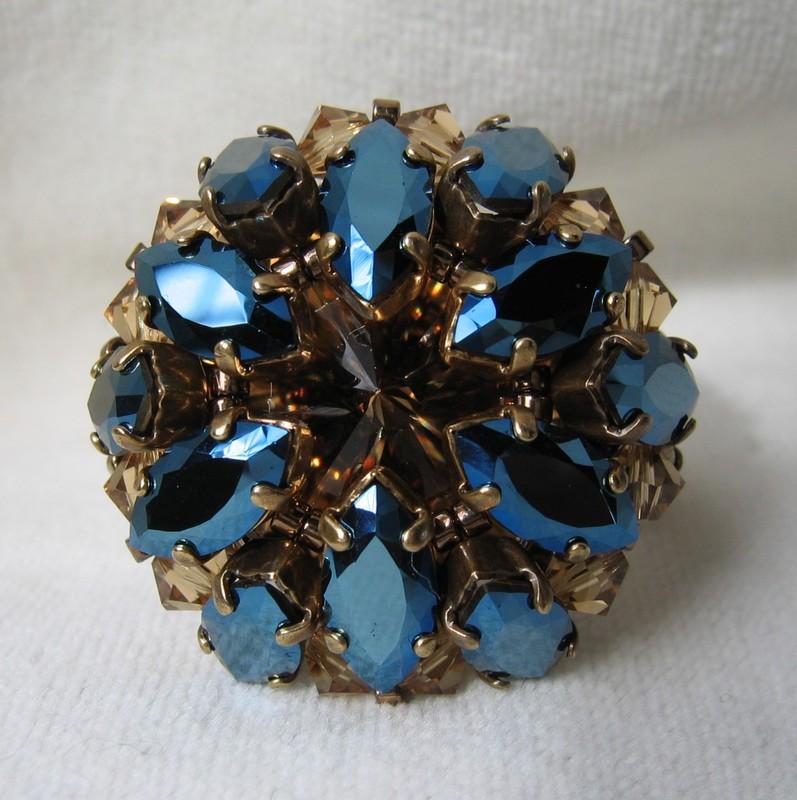 Kolya metallic blue du Charl'stone III