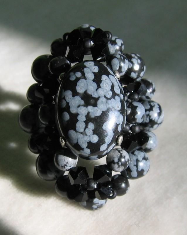 Larissa obsidienne neige, du Charl'stone I