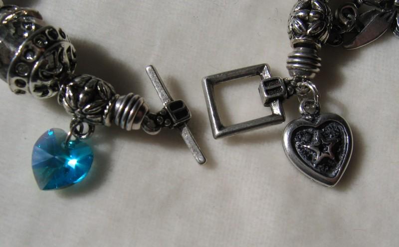 Bracelet inspiration GAS, détail fermoir.