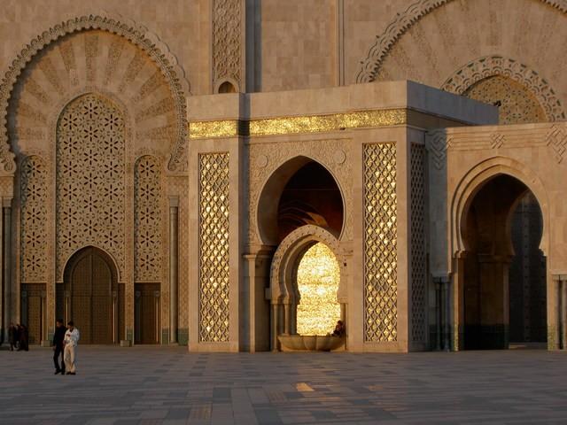 لا يفوتكم ثالث اكبر مساجد العالم مسجد مغربي Maroc2293