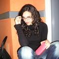 Alexia très sérieuse...enfin ca reste à voir...!!