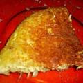Omelette aux pommes de terre et aux oignons