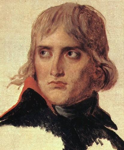 Napoléon Bonaparte, portrait inachevé, par David