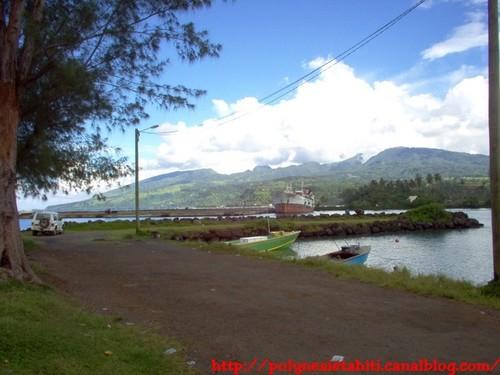 Port de Fareatea à Taravoa 1