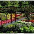 jardin de l'arc-en-ciel
