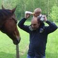 A Cheval sur les épaules de papa