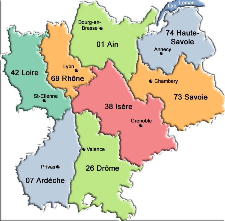 region rhone alpes page
