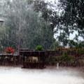Photographier la pluie - Aillac - Août 2004