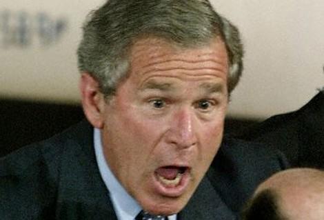 سياسيون بمنتهى الجاذبية.....لوووول Bush_shock3