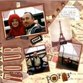 Double page Tour Eiffel 1